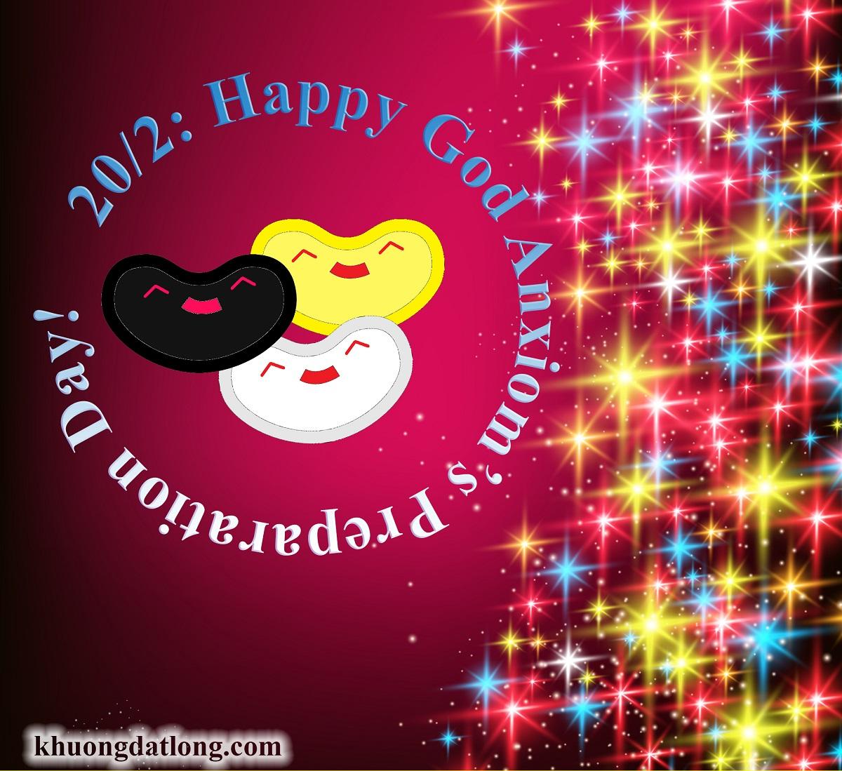 Happy God Anxiom Pre Day