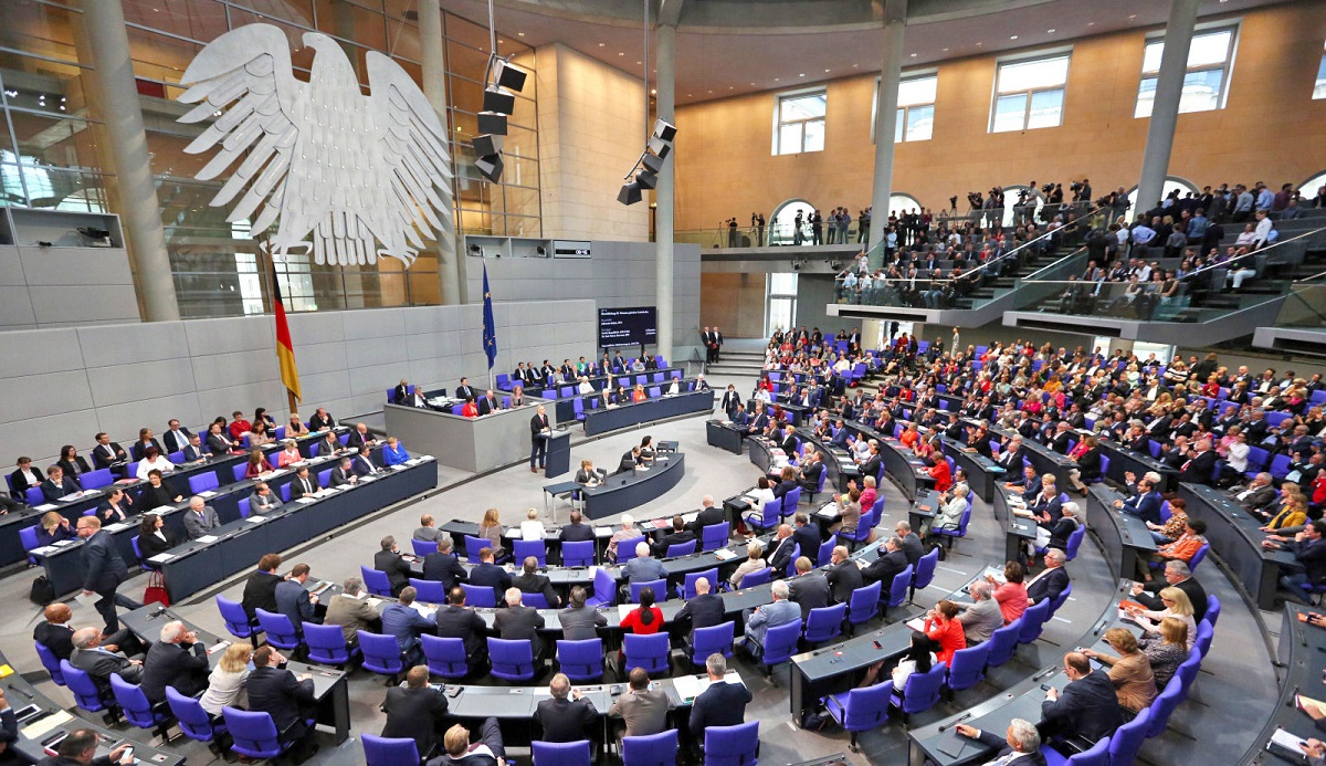 German federal parliament