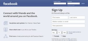 facebook login sign in shut down fake news misinformation