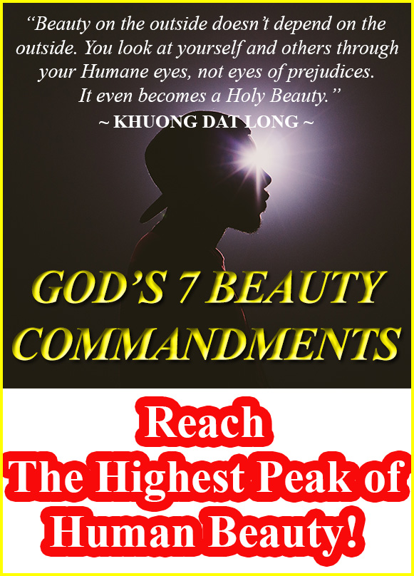 staggering inner definition of God 7 beauty commandments